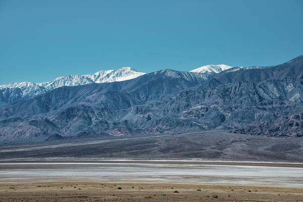 Photograph - Panamint Mtns And Salt Flats by Michael Bessler
