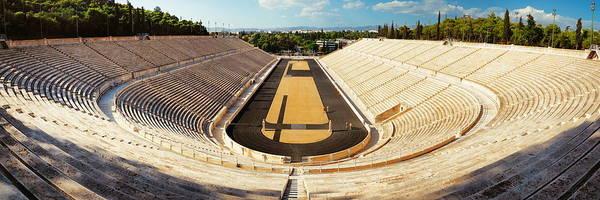 Photograph - Panathenaic Stadium Panorama by Songquan Deng