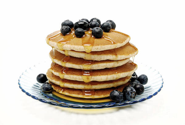 Syrup Digital Art - Pancakes by Glennis Siverson