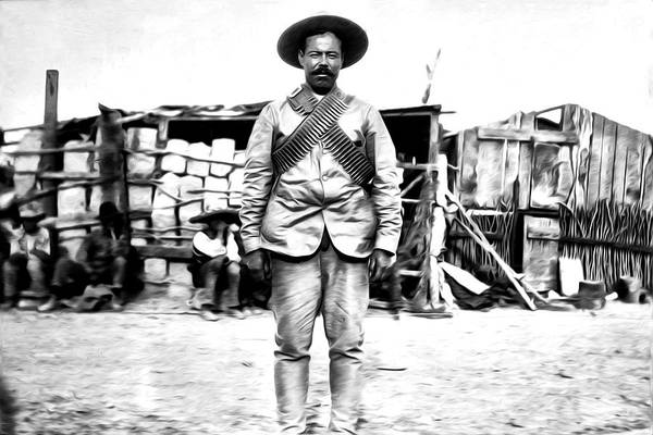 Photograph - Pancho Villa by Bill Cannon