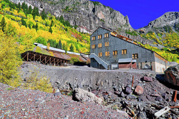 Photograph - Pandora Mill - Telluride - Colorful Colorado by Jason Politte