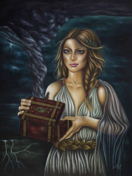 Painting - Pandora's Curse by Luis Parreira