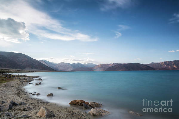 Photograph - Pangong Lake In Ladakh by Didier Marti