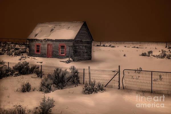 High Dynamic Range Digital Art - Panguitch Homestead by William Fields