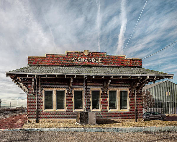 Photograph - Panhandle Depot by Scott Cordell