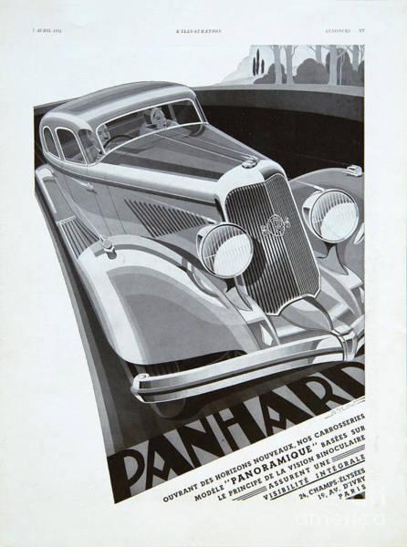 Photograph - Panhard #8710 by Hans Janssen