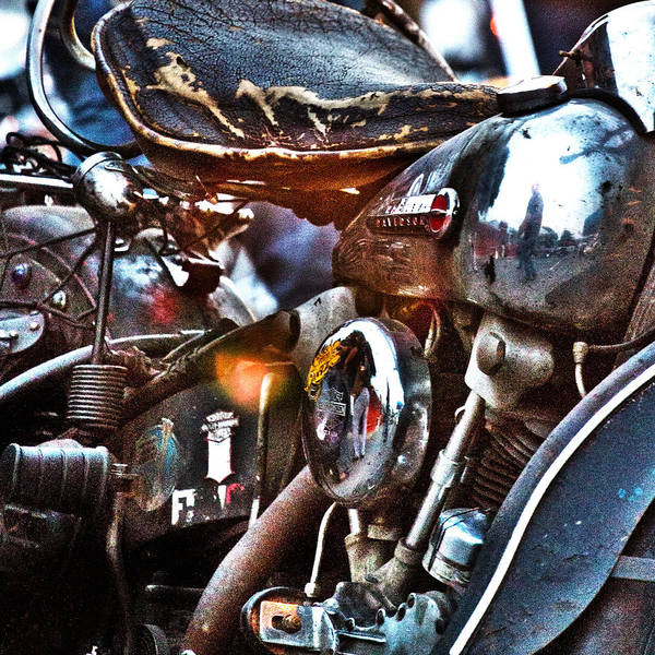 Photograph - Panhead 1 by David Ralph Johnson