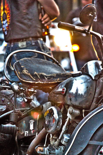 Photograph - 002 - Panhead by David Ralph Johnson