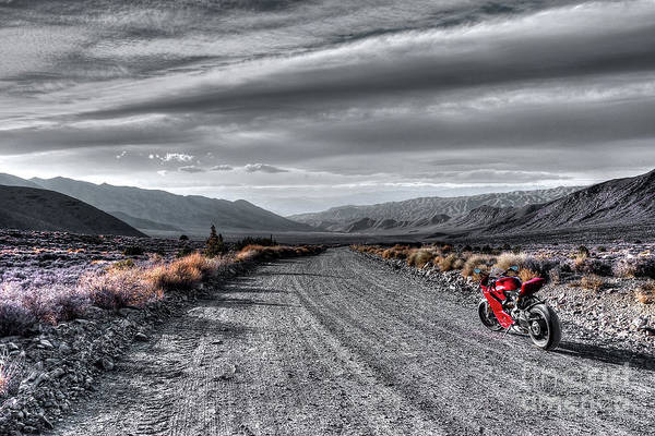 Death Valley Painting - Panigale, Death Valley by Dennis Matson