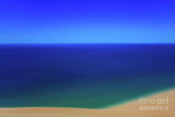 Photograph - Panning The Blue Horizon by Rachel Cohen