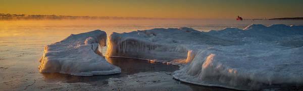 Photograph - Pano Sunrise by David Heilman