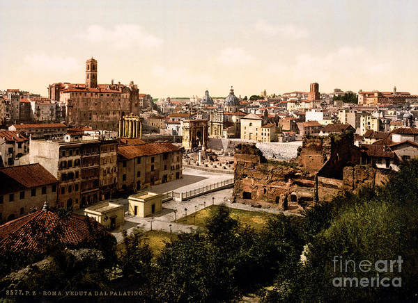 Painting - Panorama From The Palatine by Celestial Images