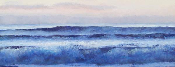 Wall Art - Painting - Panorama Ocean Painting by Jan Matson