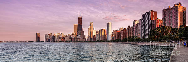 Photograph - Panorama Of Chicago From North Avenue Beach Lincoln Park - Chicago Illinois by Silvio Ligutti