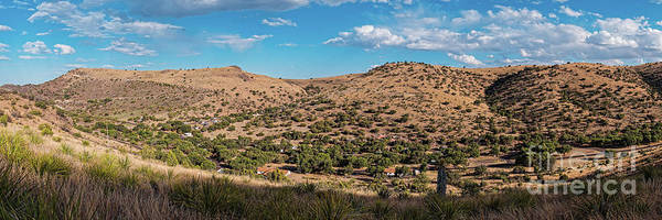 Wall Art - Photograph - Panorama Of Davis Mountains State Park And Skyline Drive From Montezuma Quail Trail - West Texas by Silvio Ligutti