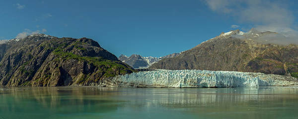 Photograph - Panorama Of Glacier Bay, Alaska by Brenda Jacobs