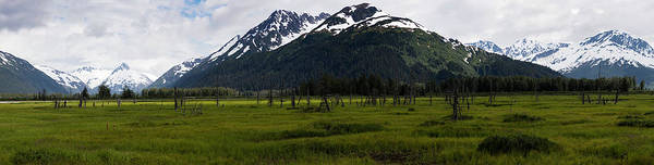 Photograph - Panorama Of Green Meadow by Gloria Anderson