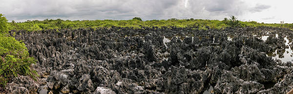 Photograph - Panorama Of Hell - Grand Cayman by Teresa Wilson