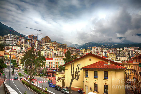 Photograph -  Panorama  Of Modern Nice, France  by Ariadna De Raadt