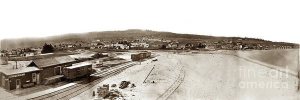 Photograph - Watkins Panorama Of Monterey, California 1882 by California Views Archives Mr Pat Hathaway Archives