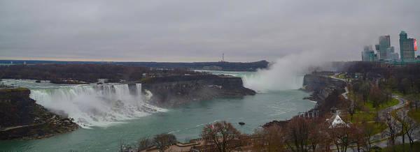 Photograph - Panorama Of Niagara Falls by Bill Cannon