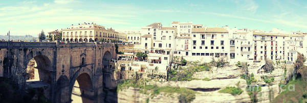 Photograph - panorama of  Rondo in Spain by Ariadna De Raadt