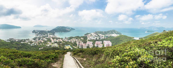 Photograph - Panorama Of Stanley And The Coast In Hong Kong Island by Didier Marti