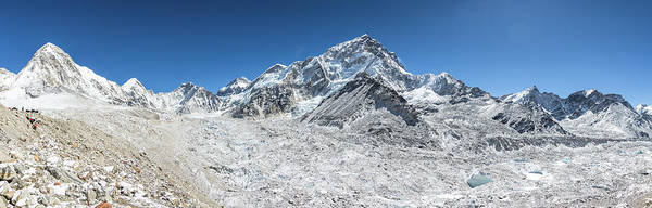 Photograph - Panorama Of The Khumbu Glacier  by Didier Marti