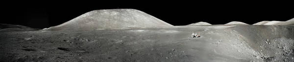 Photograph - Panorama Of The Taurus-littrow Valley On The Moon by Artistic Panda