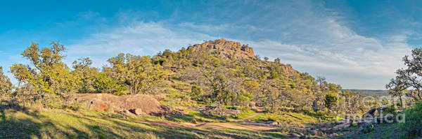 Wall Art - Photograph - Panorama Of Turkey Peak At Enchanted Rock State Natural Area - Texas Hill Country by Silvio Ligutti