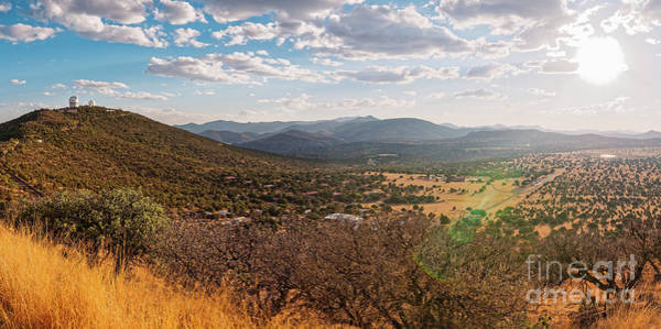 Photograph - Panorama Of University Of Texas Mcdonald Observatory And Mt. Locke - Davis Mountains West Texas by Silvio Ligutti