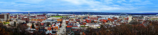 Wall Art - Photograph - Panorama View Of Dubuque, Ia  by Art Spectrum