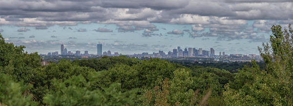 Photograph - Panoramic Boston by Brian MacLean