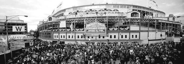 Wall Art - Photograph - Wrigley Field World Series by Bob Horsch