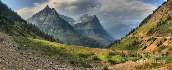Photograph - Panoramic Glacier Big Bend View by Adam Jewell