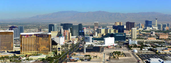 Wall Art - Photograph - Panoramic Las Vegas by David Lee Thompson