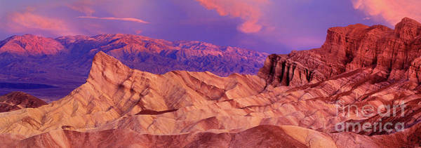 Photograph - Panoramic Manly Beacon Zabriski Point Death Valley National Park California by Dave Welling
