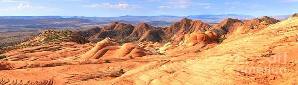 Photograph - Panoramic Of Yant Flat by Adam Jewell