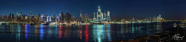 Photograph - Panoramic Skyline-manhattan by Francisco Gomez