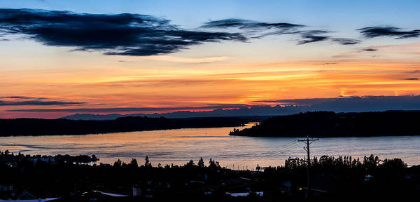Photograph - Panoramic Sunset Over Hail Passage  by Rob Green