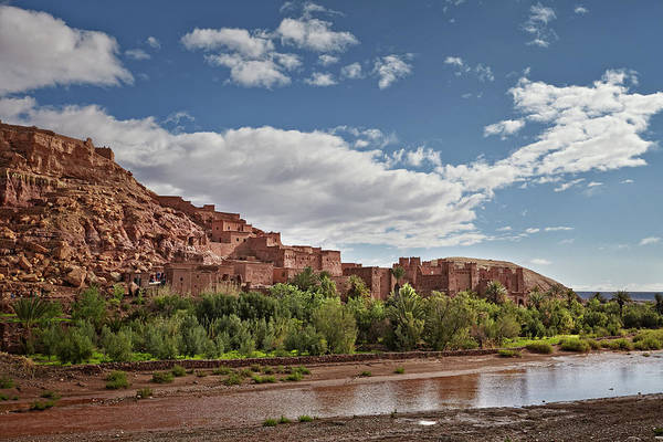 Ait Benhaddou Photograph - Panoramic View Of Ait Ben Haddou, A Unesco World Heritage Site I by Tjeerd Kruse