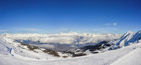 Photograph - Panoramic View Of European Alps  by Alexandre Rotenberg