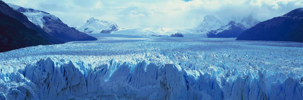 Perito Moreno Glacier Photograph - Panoramic View Of Icy Formations by Panoramic Images