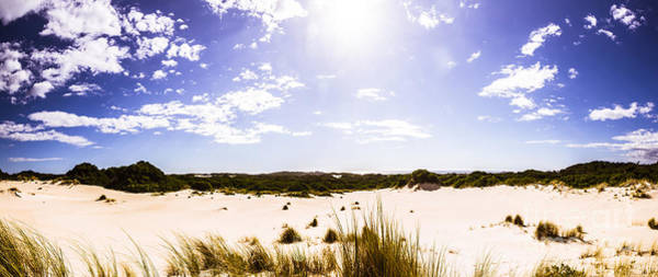 Wall Art - Photograph - Panoramic View Of Ocean Beach Dunes by Jorgo Photography - Wall Art Gallery