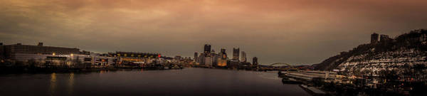 Wall Art - Photograph - Panoramic View Of Pittsburgh Skyline by Art Spectrum