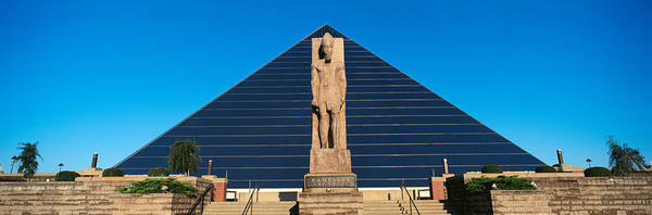 Memphis Design Wall Art - Photograph - Panoramic View Of Statue Of Ramses by Panoramic Images