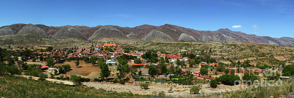 Photograph - Panoramic View Of Torotoro Village Bolivia by James Brunker