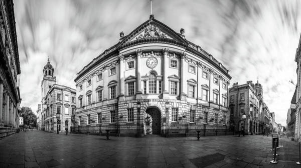 Photograph - Panoramic View Over Bristol Corn Exchange by Jacek Wojnarowski
