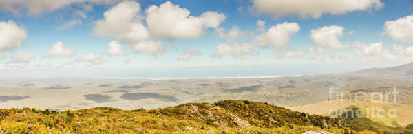 Trial Wall Art - Photograph - Panoramic Views From Mount Zeehan To Trial Harbour by Jorgo Photography - Wall Art Gallery