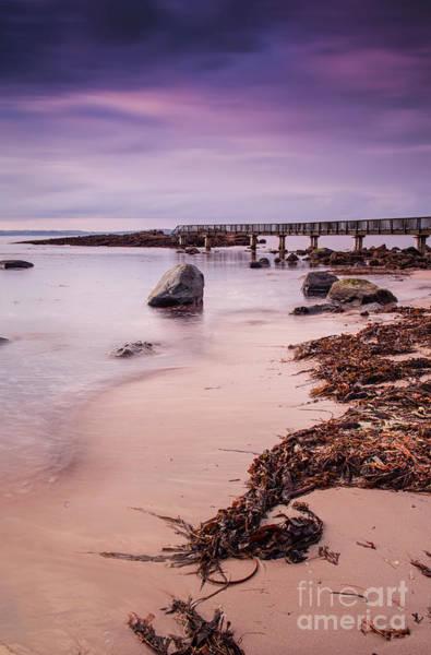 Photograph - Pans Rocks Beach by David Lichtneker